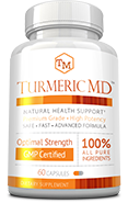 Turmeric MD Small Bottle